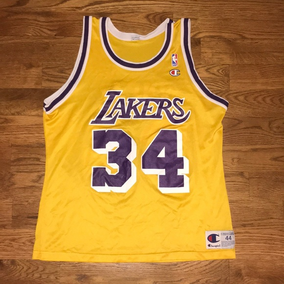 e3226ef0053c Champion Other - Vintage Shaquille O Neal Lakers Jersey